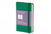 Moleskine notebook xs pla ox green hard