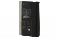 Moleskine professional notebook lg black