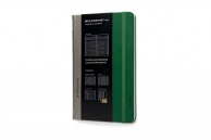 Moleskine professional notebook lg oxide green