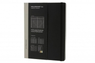 Moleskine professional notebook xl black